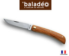 Baladeo 108mm TERROIR 420 Stainless Olive Tree Wood Handle Pocket Knife ECO152