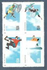 3321-4 Extreme Sports Block Of 4 Mint/nh FREE SHIPPING