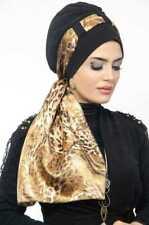 CS-49 Fertig Kopftuch Praktisch Hijab Türban Esarp Sal Tesettür Khi