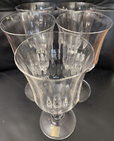 Set Of 5 Mikasa Crystal French Countryside Water Goblets Glasses 16 Oz