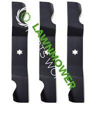 "(3) Heavy Duty Blades for Cub Cadet 50"" RZT50 742-04053 954-04053 942-04053C"