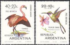 Argentina 1970 Flamingo/Woodstar/aves/Vida Silvestre Naturaleza// bienestar 2 V Set (n31666)