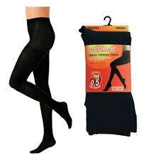 Ladies Heatguard Thermal Tights 140 Denier SK299 Black Small Standard