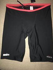 Men's Roka Ironman Boulder Jammers Racing Swimsuit Compression Shorts 34