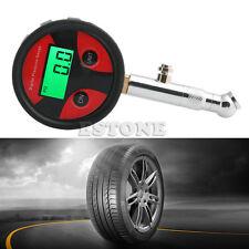 Motorcycle Car Truck Bike LCD Digital Tire Tyre Air Pressure Gauge Metet