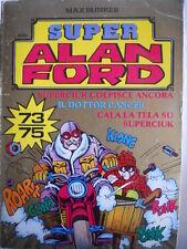 Alan Ford Super Alan Ford Serie ORO n°25 (nr 73-74-75)  [G308]