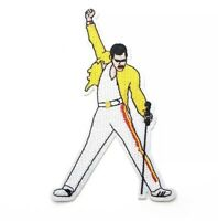 Queen Band Freddie Mercury, We Will Rock You - Iron On Patch Embroidered Badge