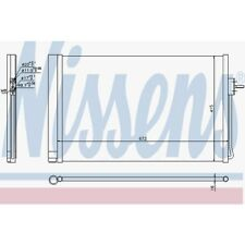 Nissens Kondensator, Klimaanlage Chevrolet . Opel Ampera 940364