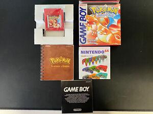 Nintendo GameBoy Pokemon Rosso 🔥 Versione rossa ITALIANO COMPLETO GiG