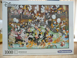 CLEMENTONI DISNEY PUZZLE.  GALA. 1000 PIECES - BRAND NEW AND FACTORY SEALED