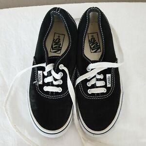 Vans Size 12uk Infant,  Black & white
