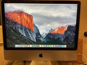 "Apple iMac A1225 24"" Desktop - MB418LL/A 8 GB, MS Office, Upgraded"