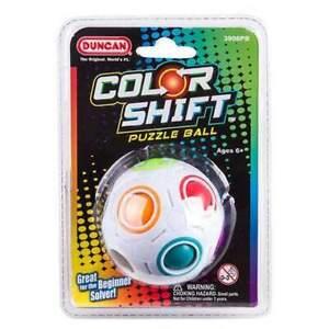 DUNCAN COLOUR SHIFT PUZZLE BALL skill toy like rubix cube