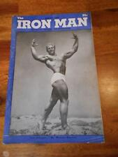 IRONMAN bodybuilding muscle magazine/JACK DELLINGER 8-48