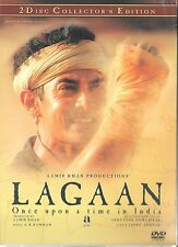 LAGAAN - AAMIR KHAN - BRAND NEW BOLLYWOOD 2DISC COLLECTOR'S SET - FREE UK POST