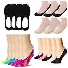 3 X LADIES SOCKS WOMENS GIRLS BLACK INVISIBLE TRAINER FOOTIE ANKLE BALLERINA