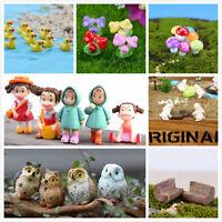 Miniature Fairy Dollhouse Landscape Garden Terrarium Figurine Bonsai Decoration!