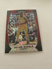 2017-18 PANINI PRIZM MOSAIC JULIUS RANDLE RED PRIZM REFRACTOR LOS ANGELES LAKERS