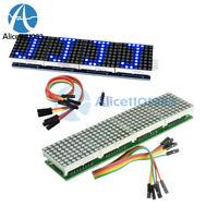 MAX7219 Microcontroller 4 In 1 Display Blue LED Line Dot Matrix Module Arduino