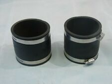 "DFW/HPI DFW56-33 C.I./VC 3"" X 3"" FLEX COUPLING (LOT OF 2) ***NNB***"