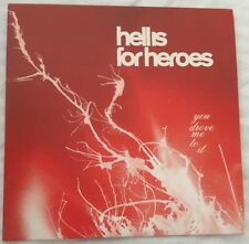 Hell Is For Heroes. You Drove Me To It. 3 Track CD Single.2002