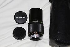 Olympus OM Zuiko MC 200mm f4 Telephoto Lens  Multi-Coated