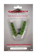 Pastillas de freno verde para bicicletas