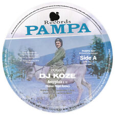 """DJ KOZE - Amygdala Remixes 2 / Roman Wing & Robag Wruhme (12 """" Vinyl) pampa021"""
