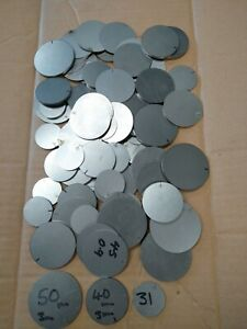 STEEL Blank Round DISCS cr4 Grade Sheet Metal Precision Laser Cut 1.5kg off cuts