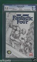 FANTASTIC FOUR #546, CGC 9.8, MARVEL, SKETCH COVER VARIANT WIZARD WORLD 2007
