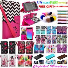 """For 6"""" T-Mobile REVVL + PLUS Case Wallet Fold Kick stand Pouch Purse Flip Cover"""