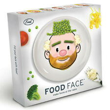 Fred & Friends MR FOOD FACE Kids Ceramic Novelty Fun Dinner Plate