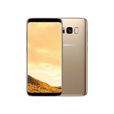 New Samsung Galaxy S8 64GB Gold Dual Sim Unlocked G950FD - Next Day Delivery