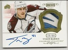 2012/13 Panini Dominion Tyson Barrie Rookie RC Auto Patch /60!