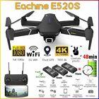 E520S Black FPV Drone, GPS WIFI, 5G 4K/1080P HD Cam, 48min Flight, 3 Batteries