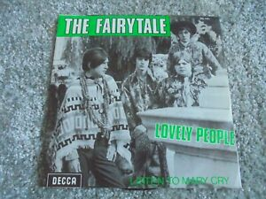 The Fairytale - Lovely People 1967 BELGIUM 45 DECCA PSYCH