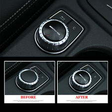 1 Ps Multimedia Control Badge Decal Adhesive AMG Black Sticker For Mercedes Benz