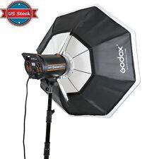 "Us Stock Godox Octagon Softbox 37"" 95cm Bowens Mount for Studio Strobe Flash"