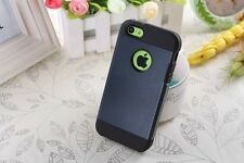 Apple iPhone 4 iPhone 4s CASE HÜLLE BUMPER COVER  SCHUTZ Farbe Metal Slate Neue