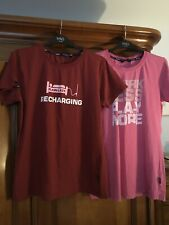 New Plain Lazy Women/'s T-Shirt funny humour caption easy-going UK 14-16 RRP £22