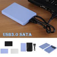 "USB 3.0 SATA 2.5"" Inch External Hard Drive HD HDD Mobile Disk Enclosure Case Box"