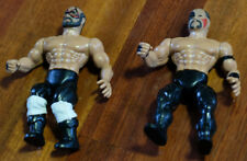 VINTAGE REMCO AWA WRESTLING ROAD WARRIORS LEGION OF DOOM FIGURE w/ BELTS WWF