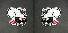Set of 2 Burma Banshees Skull Patches - Sew/Iron On WW2 Plane Nose Art