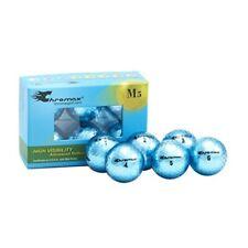 Chromax Metallic M5 Colored Golf Balls (pack of 6) Blue