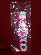 2014 McDonalds Happy Meal Toy Paul Frank #1 Best Friends Bracelet SEALED NEW