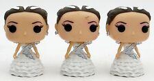 Hunger Games KATNISS WEDDING DRESS FUNKO POP VINYL DOLL lot of 3 used loose