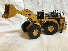 NORSCOT #55161 CAT CATERPILLAR 994F ARTICULATED WHEEL LOADER METAL RAILS 1:50