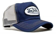 Authentic Brand New Von Dutch Gray Mesh/Navy Baseball Cap Hat Trucker Mesh