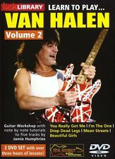 LICK LIBRARY Learn To Play VAN HALEN You Really Got Me ROCK GUITAR DVD Vol 2