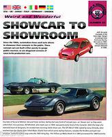 CONCEPT CARS IMP Auto Brochure: CORVETTE,Harley Earl,STEALTH,GM,